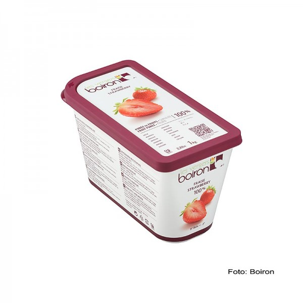 Les Vergers Boiron - Püree-Erdbeer ungezuckert TK
