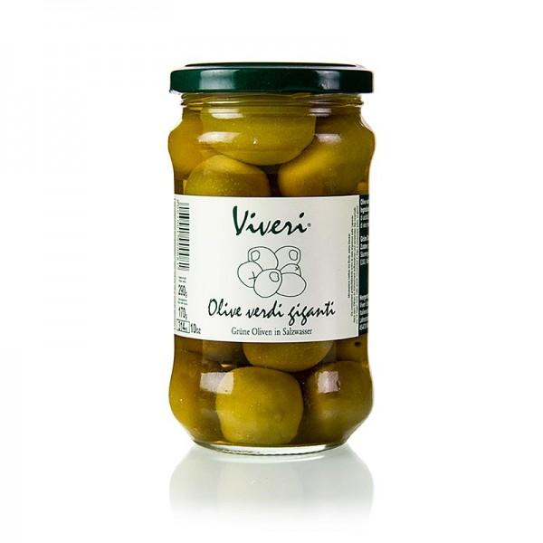 Viveri - Grüne Oliven mit Kern Gigante in Lake Viveri