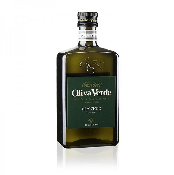 Olis Sole - 100% Frantoio Toscana Olivenöl Extra Vergine grünes Etikett Oliva Verde