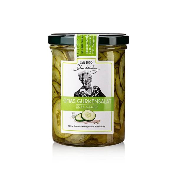 Schudeisky - Omas Gurkensalat würzig pikant Schudeisky