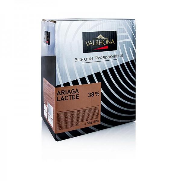 Valrhona - Ariaga Lactee Milchschokolade Couverture Callets 38% Kakao