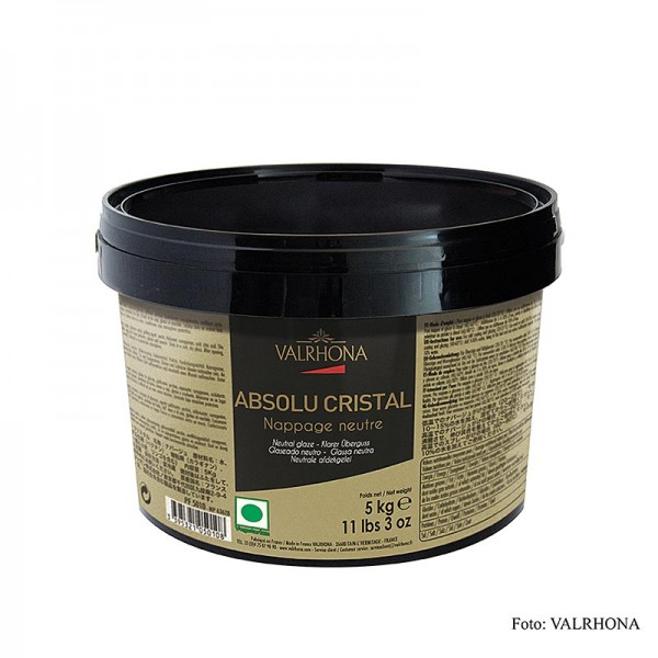 Valrhona - Nappage - Absolu Cristal neutral klarer Guss