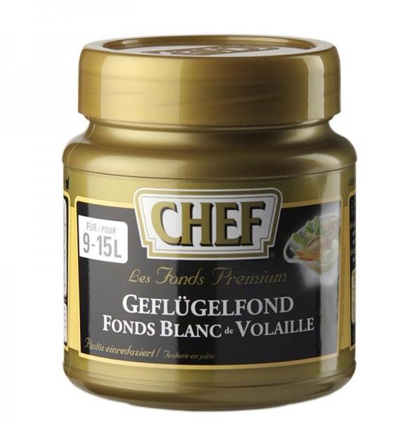 Chef Fond Premium - CHEF Premium Konzentrat - Geflügelfond leicht pastös hell für 9-15 L