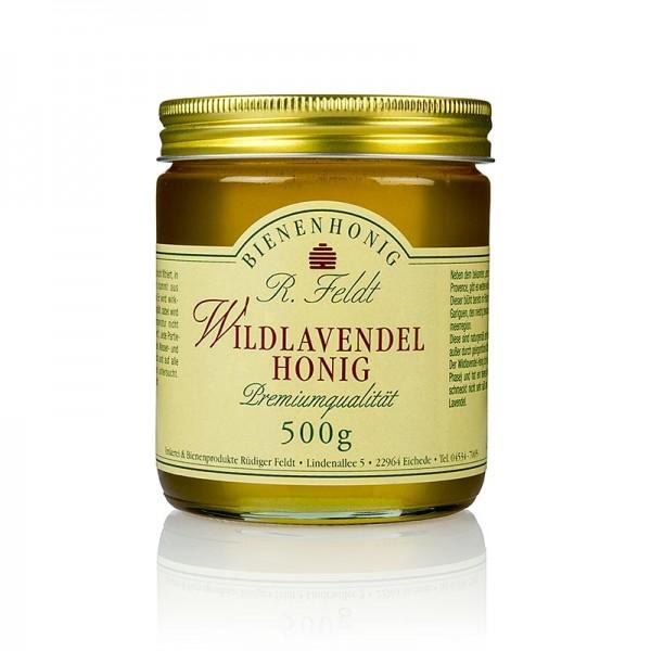 R. Feldt Bienenhonig - Wildlavendel-Honig Mittelmeerregion flüssig klar nicht süß