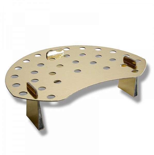 Deli-Vinos Kitchen Accessories - Mini-Waffelhörnchen-Halter Hartkarton/Goldfolie für 32 Hörnchen