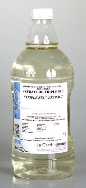 La Carthaginoise - Triple Sec 50% vol. Cointreau Art Gel für Patisserie & Eisherstellung