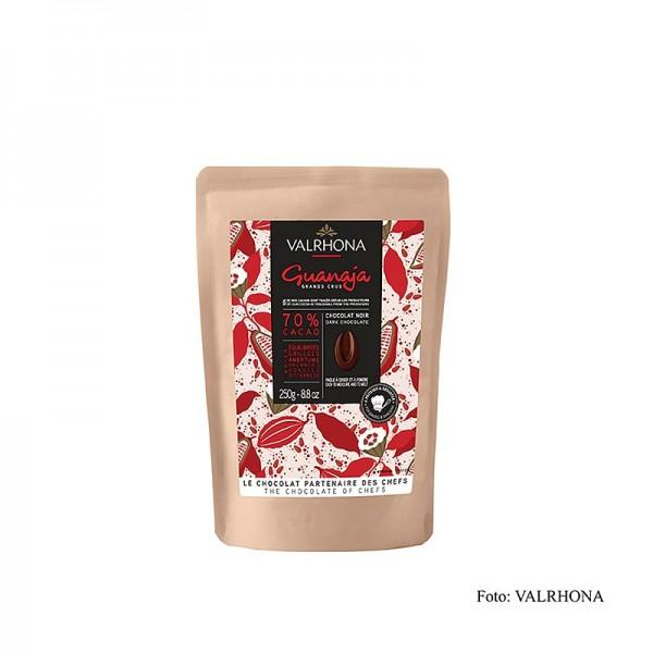 Valrhona - Valrhona Guanaja Bitterschokolade 70% Callets