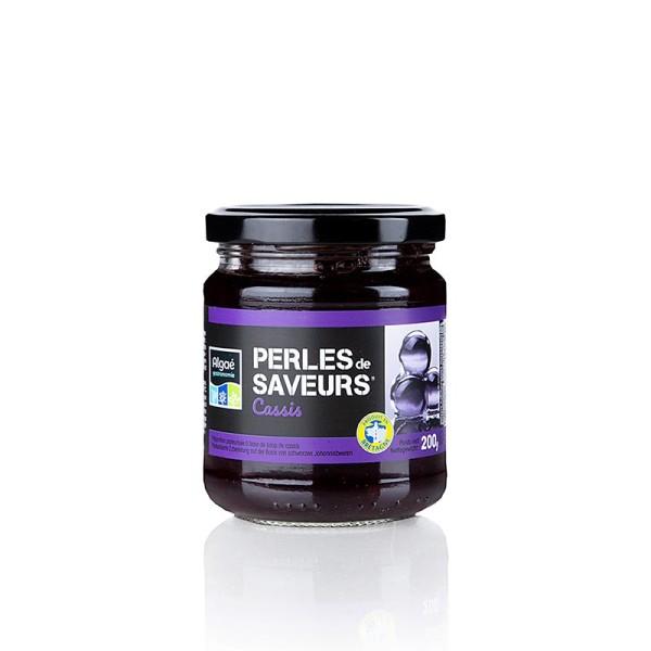 Les Perles - Fruchtkaviar Cassis Perlgrösse 5mm Sphären Les Perles