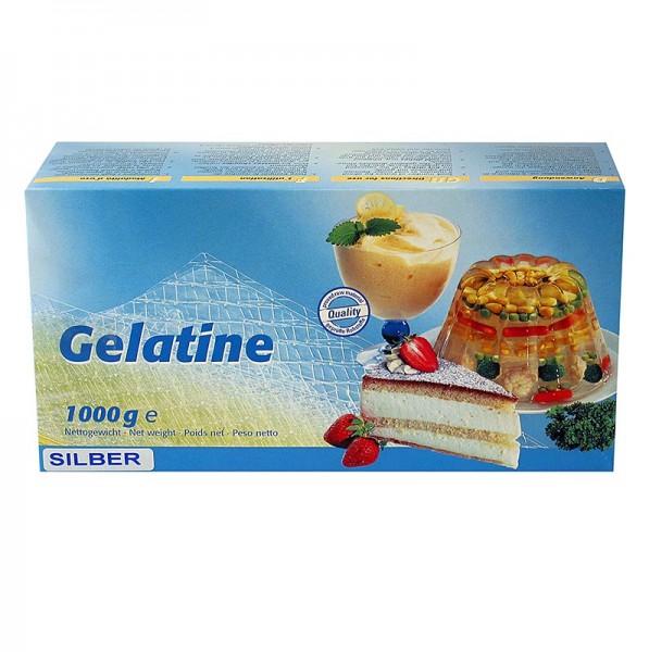 Ewald Gelantine - Blatt-Gelatine - Silber 160 Bloom