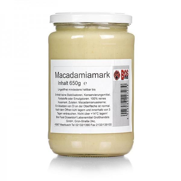 Bos Food - BOS FOOD Macadamia-Mark 100% Mark ohne Zusatzstoffe
