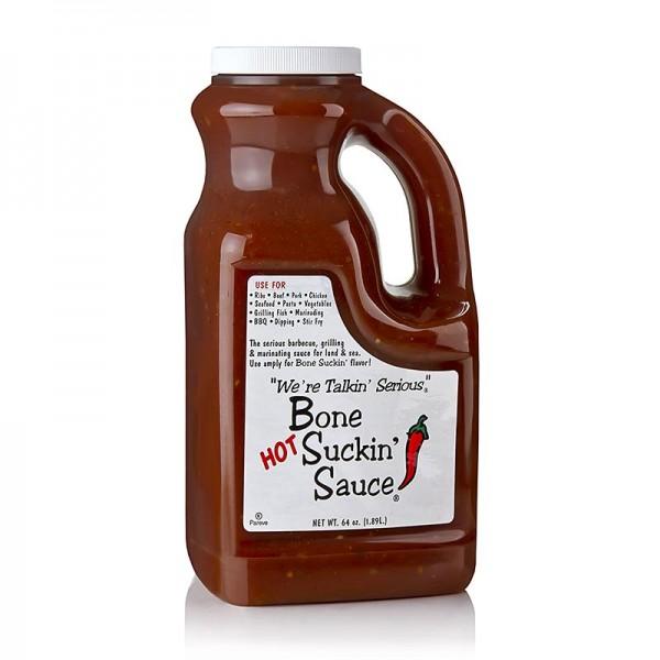 Bone Suckin' - Bone Suckin´ Sauce Hot BBQ Sauce Ford´s Food
