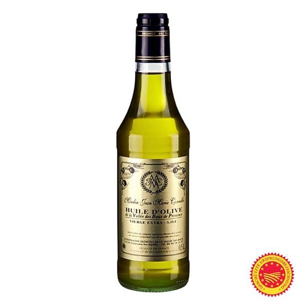 Baux de Provence - Olivenöl Vierge AOP Fruité Noir mild-süßlich Baux de Provence Cornille