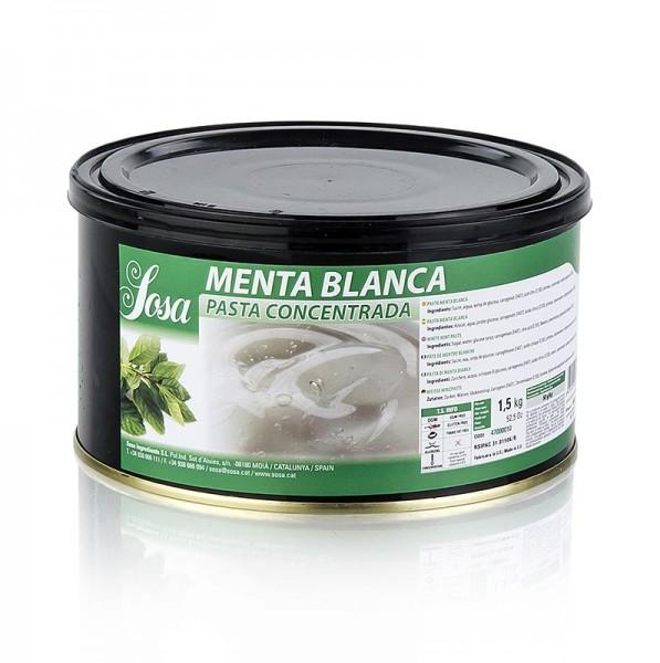 Sosa - Paste - Minz weiß aromatisiert