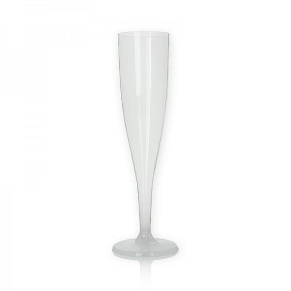 Deli-Vinos Kitchen Accessories - Einweg Champagnerglas Kunststoff klar