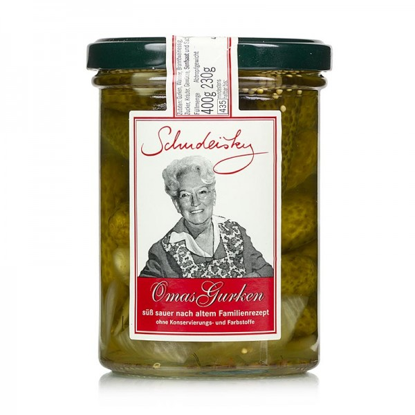 Schudeisky - Omas Gurken süß-sauer eingelegt Schudeisky