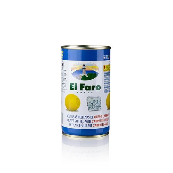 El Faro - Grüne Oliven mit Blauschimmelkäse in Lake El Faro