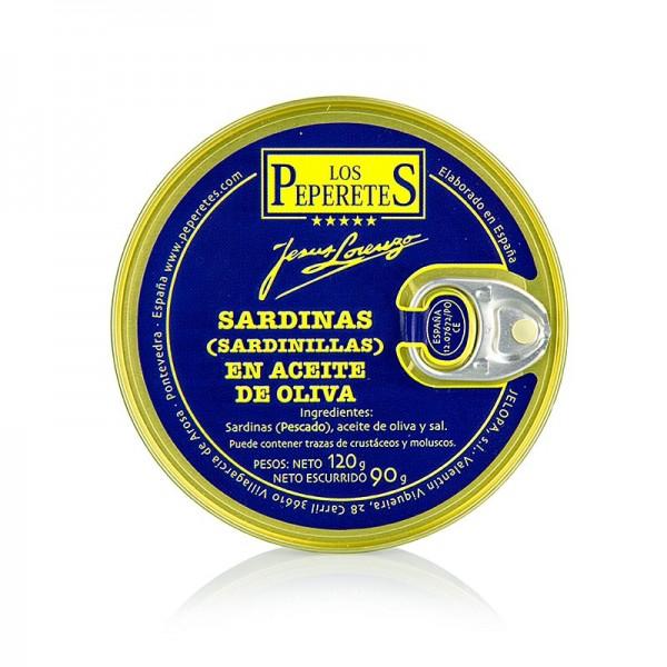 Los Peperetes - Sardinillas ohne Kopf in Olivenöl Los Peperetes - es gibt keine Besseren!