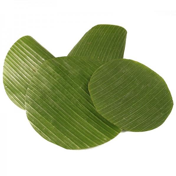 Deli-Vinos Legumes - Bananenblätter rund geschnitten ø 20cm frisch