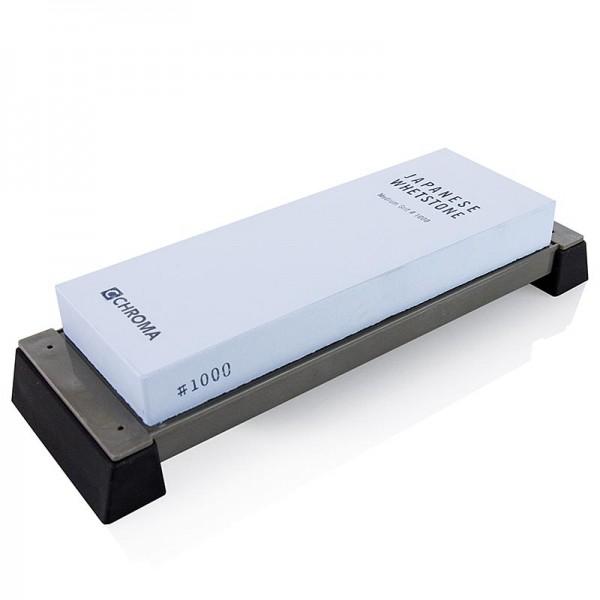Chroma - Chroma ST-1000 Schleifstein Körnung 1000 mit Halterung 210x75x23mm