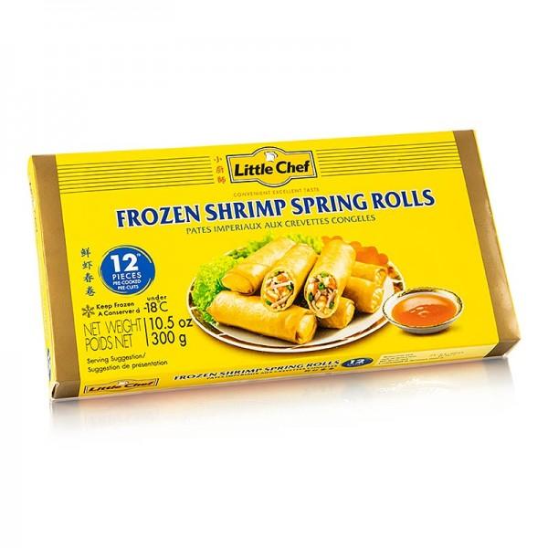 Deli-Vinos Asia - Mini-Frühlingsrollen Shrimps mit Garnelen und Gemüse TK