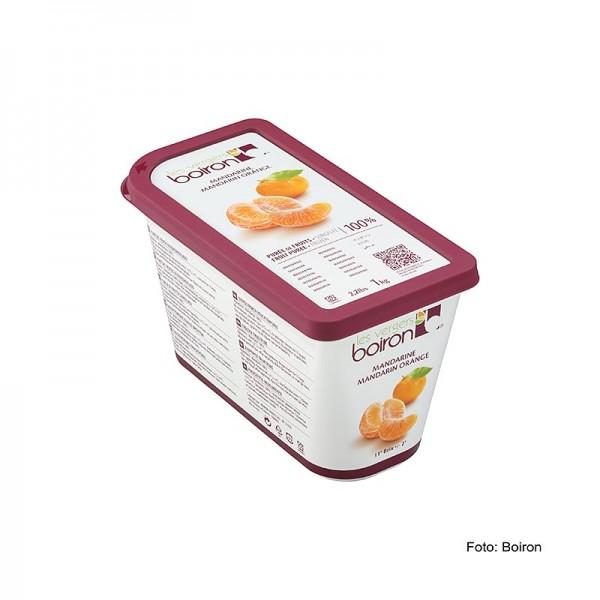 Les Vergers Boiron - Püree-Mandarinen Früchte aus dem Mittelmeerraum ungezuckert TK