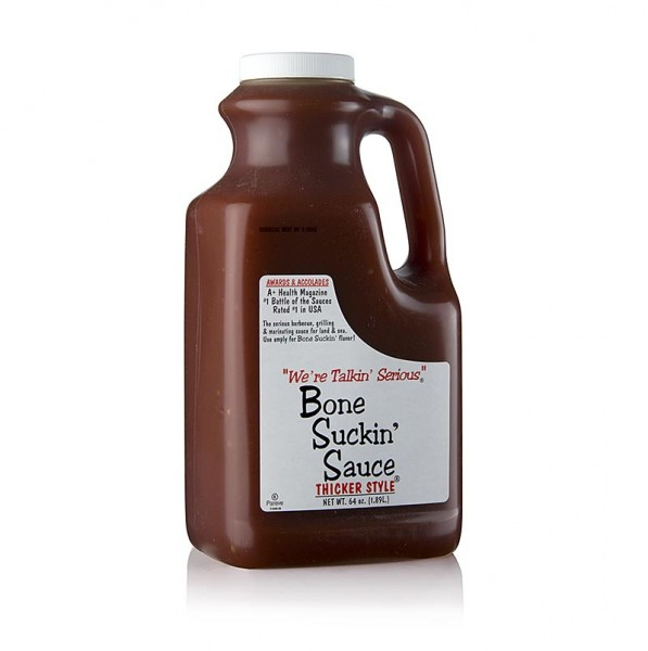 Bone Suckin' - Bone Suckin´ Sauce Regular BBQ Sauce (dickflüssig) Ford´s Food