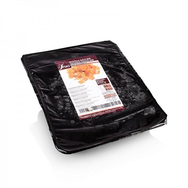 Sosa - Cold Confit - Orangeat halbkandiert 8x8mm