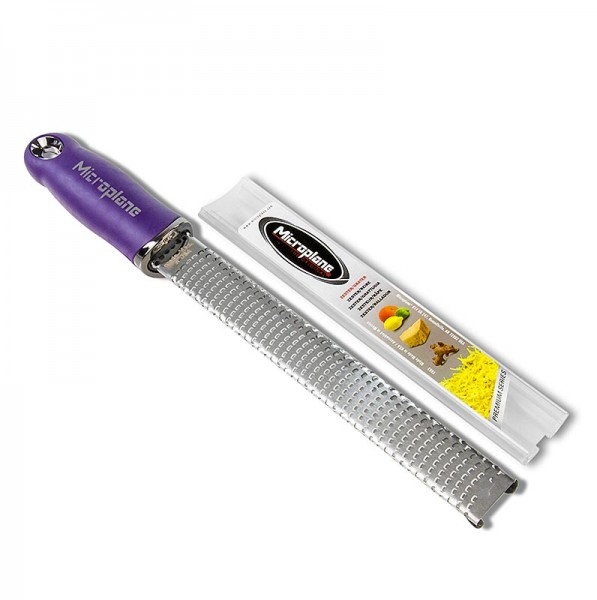 Microplane - Premium Classic - Stab Zesten Reibe Griff lila/soft-touch