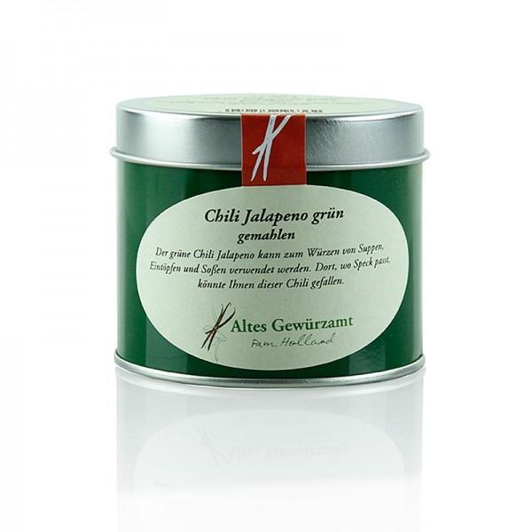Altes Gewürzamt - Chili Jalapeno grün gemahlen Altes Gewürzamt