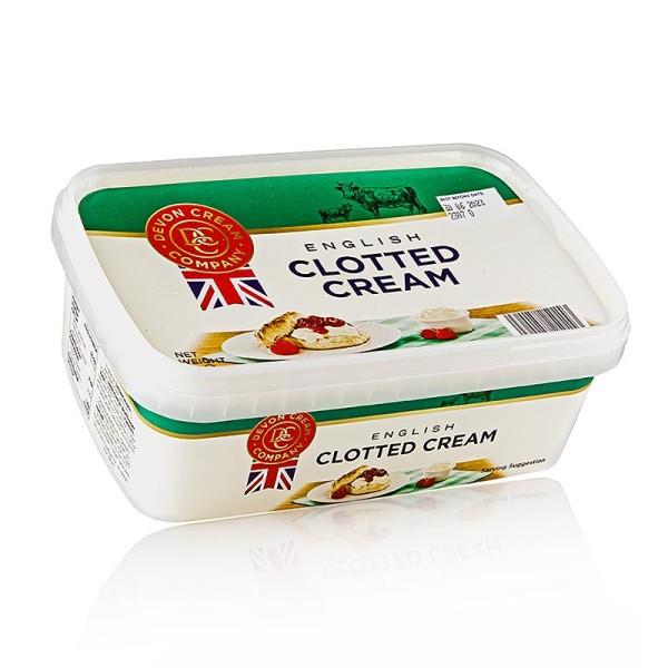 Coombe Castle - Englische Clotted Cream feste Rahm-Creme 55% Fett
