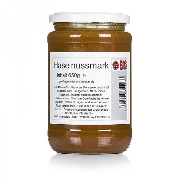 Bos Food - BOS FOOD Haselnuss-Mark 100% Mark ohne Zusatzstoffe