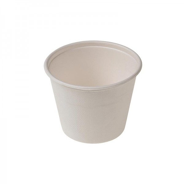 Naturesse - Einweg Naturesse Take Away Suppen Becher 425ml Ø11x8.5cm Zuckerrohr