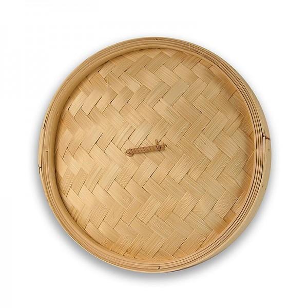 Deli-Vinos Kitchen Accessories - Deckel für Bambusdämpfer ø 26cm außen ø 24cm innen 10 inch