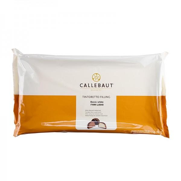 Callebaut - Tintoretto - weiße Pralinenfüllung neutral