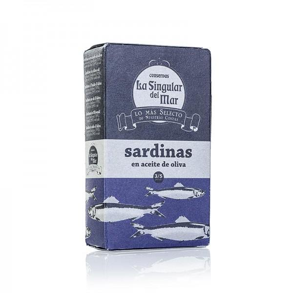 La Singular del Mar - Sardinen in Olivenöl Spanien