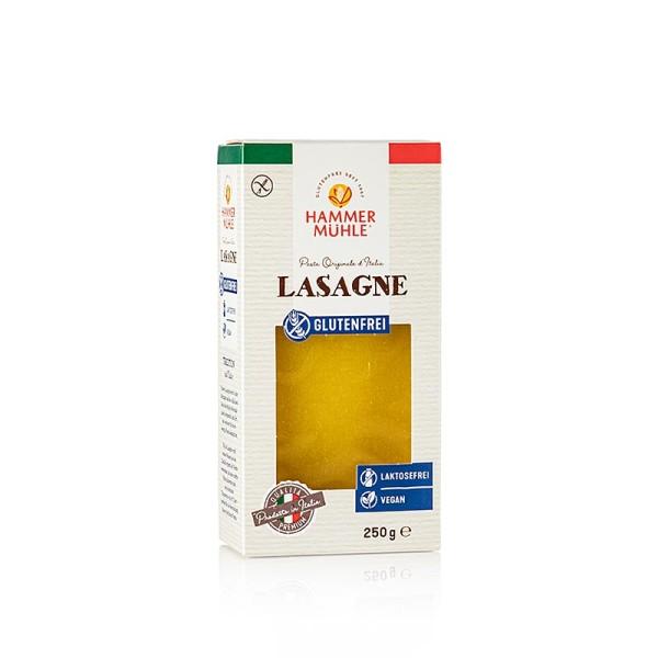 Hammermühle - Hammermühle - Lasagne Platten aus Mais und Reis laktose glutenfrei