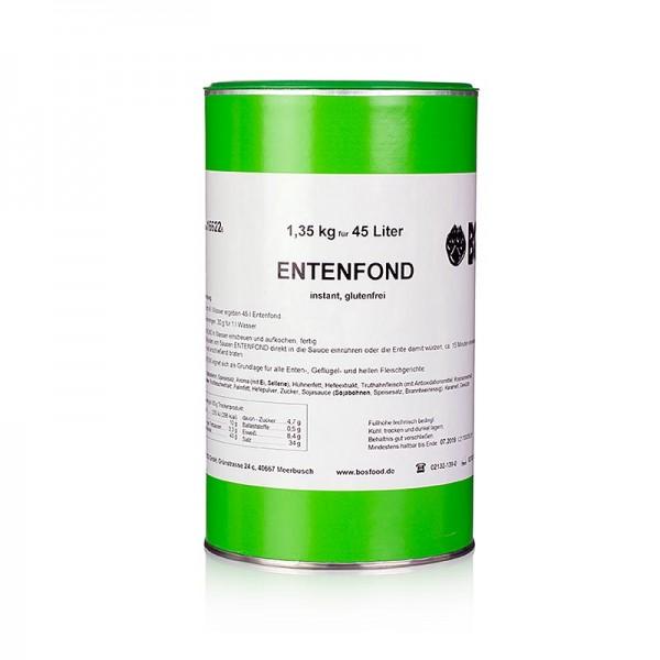 Gewürzgarten Selection - Entenfond Instantpulver ohne zugesetztes Glutamat für 45 Liter