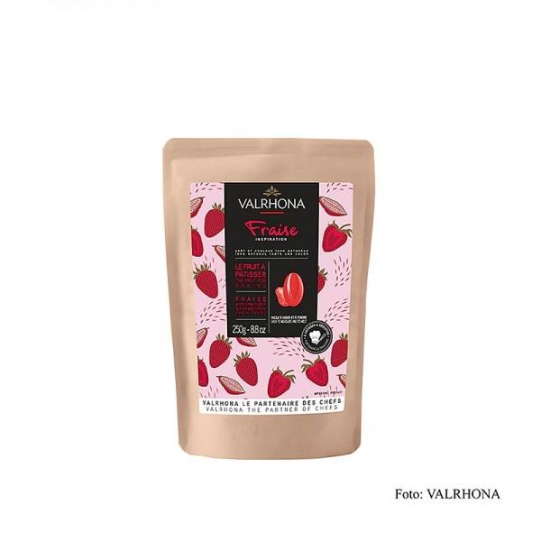 Valrhona - Valrhona Inspiration Erdbeere Erdbeerspezialität mit Kakaobutter Callets