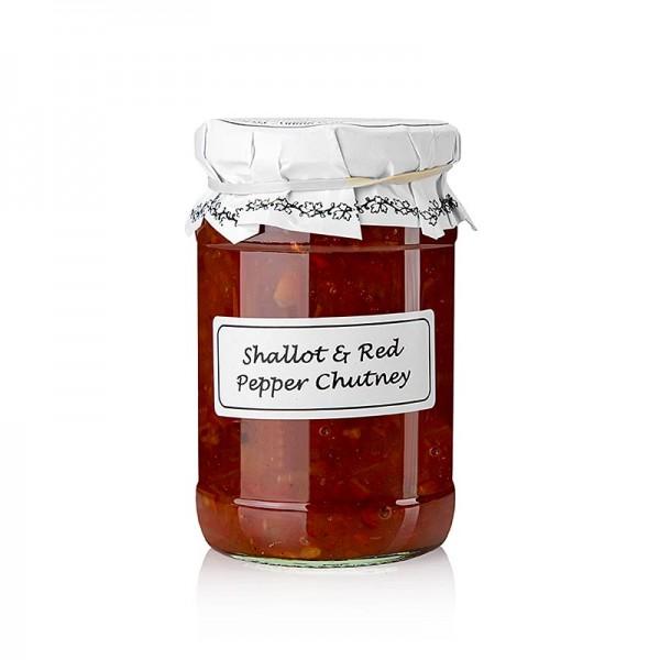 Wolfram Berge - Shallot & Red Pepper Chutney mit Schalotten & Paprika