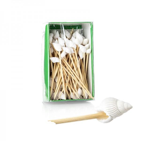 Deli-Vinos Kitchen Accessories - Bambus-Spieße Muschel 7cm