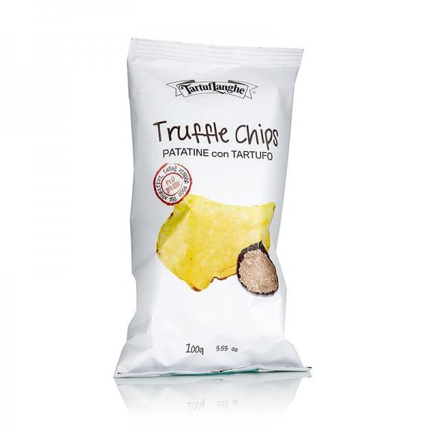 Tartuflanghe - TARTUFLANGHE Trüffel-Chips Kartoffelchips m. Sommertrüffel (tuber aestivum)