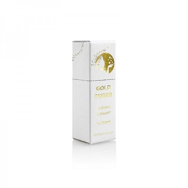Goldmarie - Gold Puder/ Blattgoldflocken Streuer 23 Karat ca.0.5-1mm²