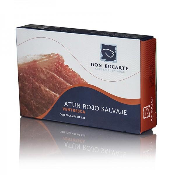 Don Bocarte - Ventresca - Bauchfleisch vom Bluefin Thunfisch Don Bocarte Spanien