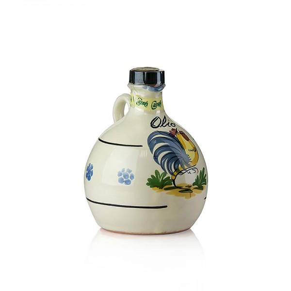 Caroli - Olivenöl,Antica Masseria Caroli,Keramikflasche Gallo Kaltextraktion.250ml