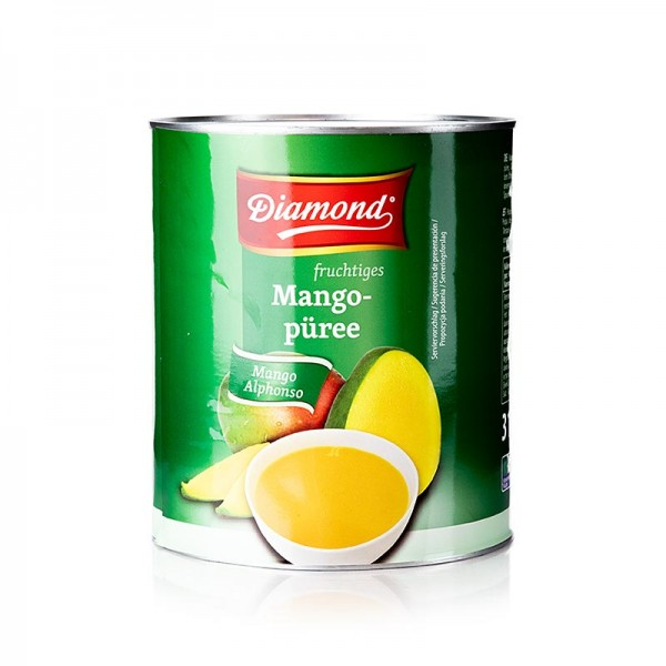 Diamond - Mango-Pulpe gezuckert Alphonso Diamond