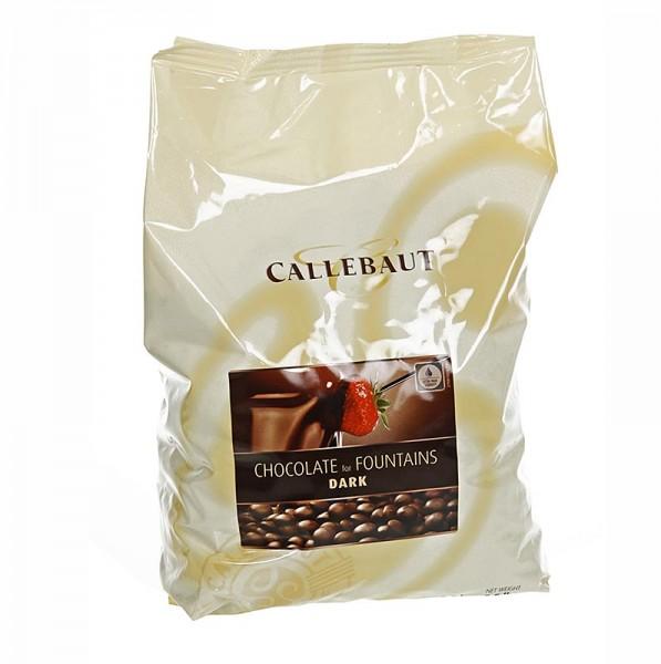 Callebaut - Zartbitterschokolade Callets für Brunnen und Fondue 56.9% Kakao
