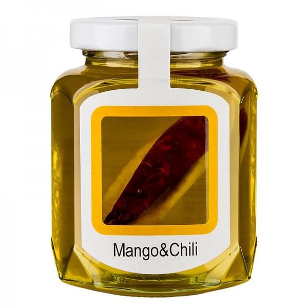 imhonig - Akazienhonigzubereitung mit getrockneter Mango und Chili imhonig