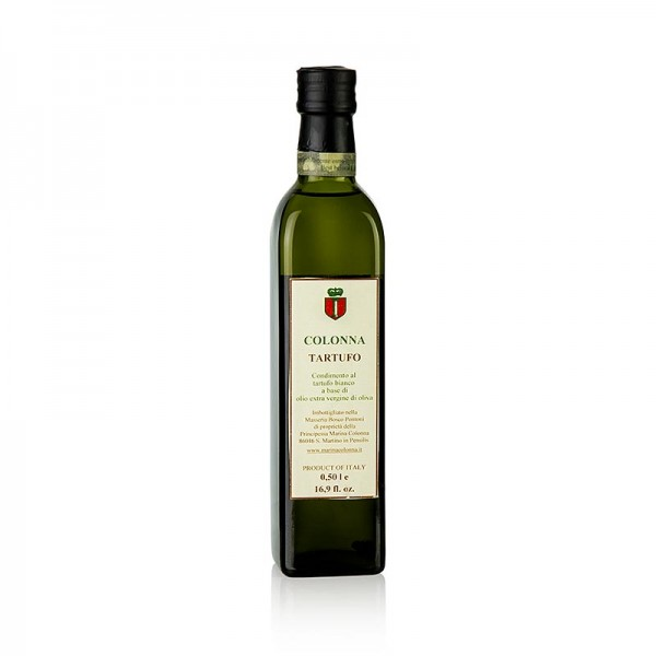 Marina Colonna - Olivenöl Extra Vergine mit weißer Trüffel-Aroma (Trüffelöl) M. Colonna