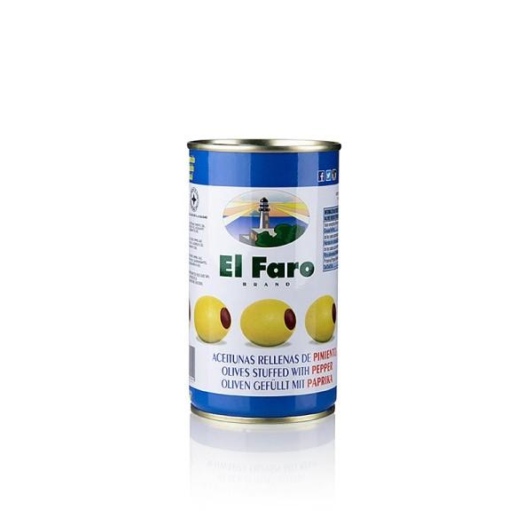 El Faro - Grüne Oliven mit Paprikapaste in Lake El Faro