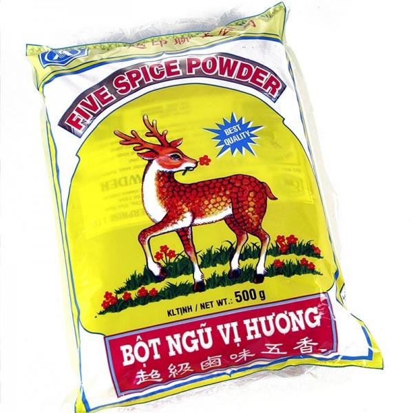 5-Spice-Powder - Five Spice Pulver mit Anis Fenchel Nelken Ingwer und Zimt